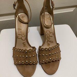 Yaria Studded Block Heel Sandal
